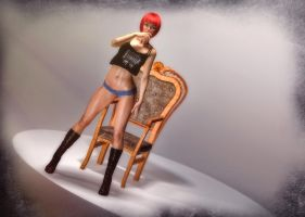Jessica - Twist and Turn by 3DPerson