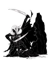 Drizzt DoUrden by MaryZho