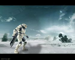 Halo 3 Wallpaper 2 by igotgame1075