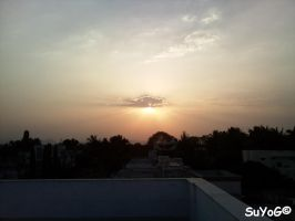 Sky View From Terrace by sds49in