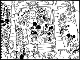 Mickey Mouse Works, House of Mouse by AverageJoeArtwork