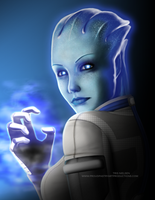 Liara is Gonna Kick Your Ass by ProudPastry