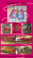 Cheshire Cat Shoes by PhantomCrazy