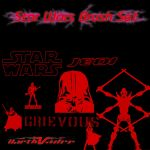 Star Wars Photoshop Brushes by dcdward