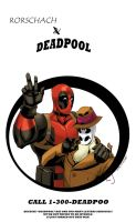 Rorschach n Deadpool by Unirizz