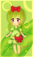 Caterpie  Gijinka by maikip