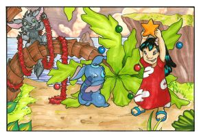 Christmas in Hawaii by Tomecko