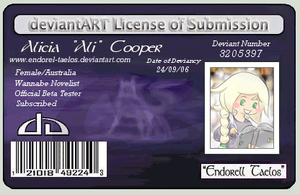 deviantART License of Submission '09 ID by Endorell-Taelos