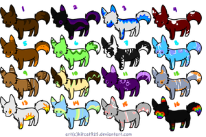 Wolf adopts 1 .:CLOSED:. by sunshinefilly-adopts