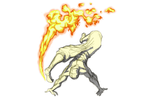 Firebending Kick by moptop4000