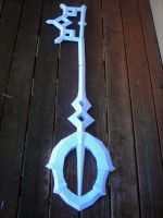 Aqua Keyblade Assembled by AngiKate