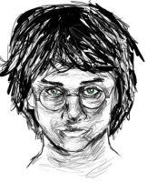 Scary Harry by Nishomay