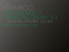 xBamboo Icons for Android by xNiikk