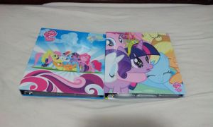 My MLP Card Binders by DestinyDecade