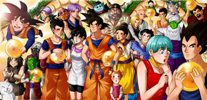 Dragon Ball Z - Tribute to the Heroes by koopazzu