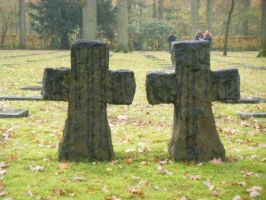Two crosses by MarsmallowMe