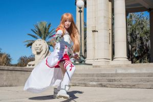Sword Art Online Asuna Yuuki with Lambent Light by firecloak
