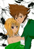 Tai and Sora by Blossom93