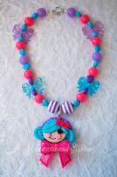 Sweet Doll Necklace by nanecakes