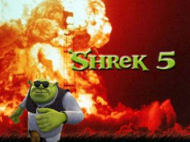 Shrek 5 Promotional Poster by mrlorgin
