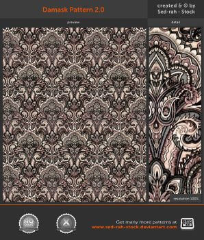 Damask Pattern 2.0 by Sed-rah-Stock