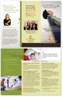 Brochure for a Health Food Specialist by montgomeryq