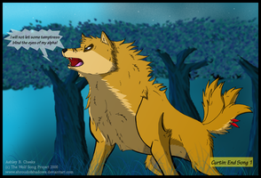 Wolf Song Page 23 by ShroudofShadows