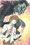 DN: Light and Ryuk by tomgirl227