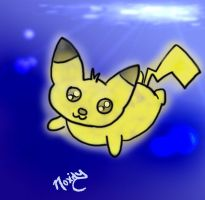 Pika Doodle 2 by Lucora