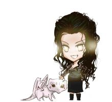 Merlin BBC - Chibi Morgana by NAD-LifeOfficial