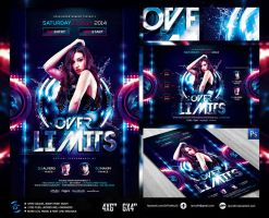 Over Limits V2 Flyer Template by ranvx54