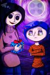 Coraline and Other Mother by DarkMirrorEmo23