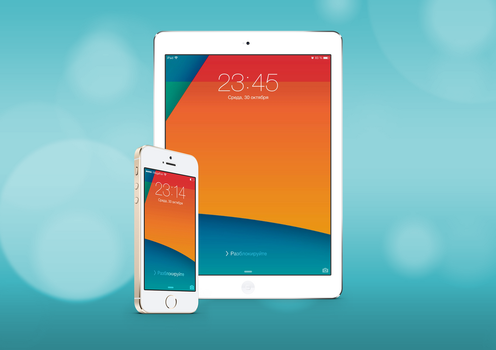 NEXUS Wallpaper for iPhone 5S/5C and iPad Air by BesQ