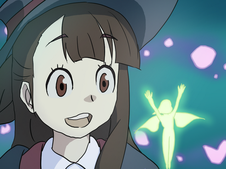Little Witch Academia - Atsuko Kagari by TenzinSonam995