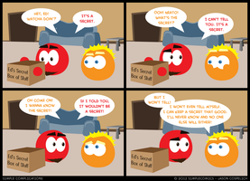 SC255 - Keep a Secret by simpleCOMICS