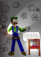 Don't Blink, Luigi by Luke-the-F0x