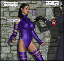 Psylocke Dusted by LordSnot