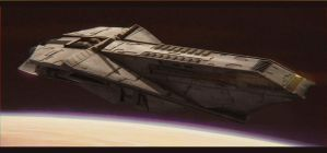 Star Wars Czerka Arms Cargo Ship by AdamKop