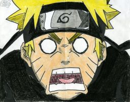 my drawing of Naruto by good2games