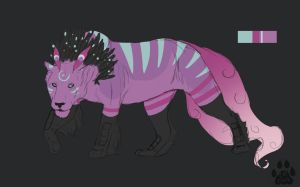 Quill lion adopt [Closed] by catdoak