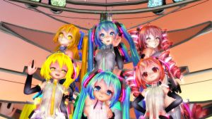 [MMD] Twinkle x Twinkle New Video TDA Model! by VocaloidHD