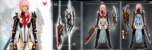 RED HEART - FFXIII Contest by lazyboat