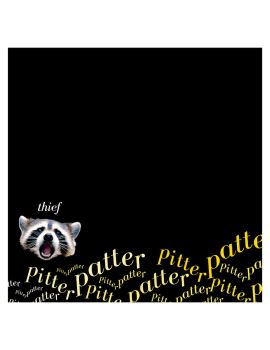 Racoon Pitter Patter by Mr-Tibble