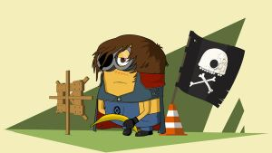 Captain Minion by Guidux92