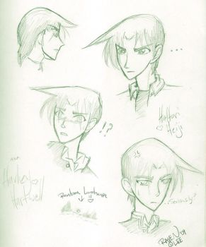 Hattori -practice sketches- by HyrulianLegacy