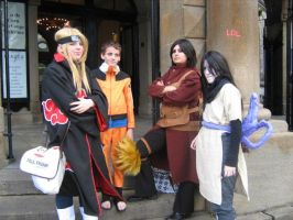 Naruto group 1 by LuciaDuvant