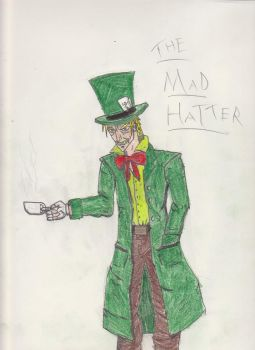 The Mad Hatter by evilkittypwnsall