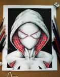 Spider Gwen by oscargzhz