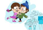 Little Dipper and Mabel by Swatbot26