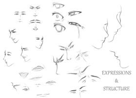 Expression Practice by kitten130999
